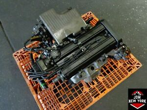99 01 Honda Crv 2 0l Dohc High Comp Low Intake Engine Free Shipping Jdm B20b