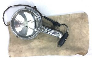Vintage 1950s Electroline Hand Held Automotive Spot Light Model G900 a26