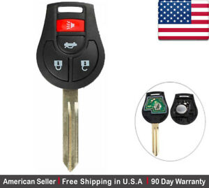 1x New Replacement Keyless Entry Remote Control Key Fob For Nissan Infiniti