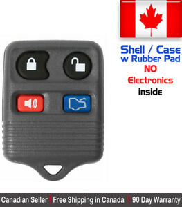 1x New Replacement Keyless Remote Key Fob For Ford Lincoln Mercury Shell Case