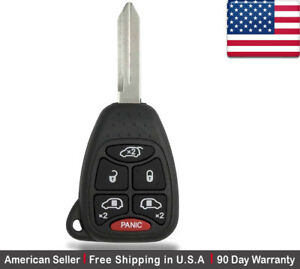 1x New Replacement Keyless Entry Remote Control Key Fob For Chrysler And Dodge