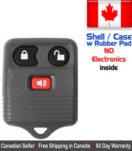 1x New Replacement Keyless Entry Remote Control Key Fob For Ford Shell Case Only
