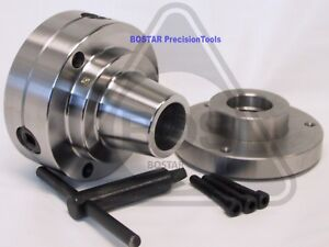 Bostar 5c Collet Lathe Chuck With 1 X 10 Threaded Semi finished Adapter
