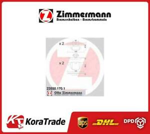 235501701 Zimmermann Oe Quallity Disc Brake Pads Set