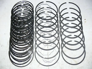 1962 To 1963 Ford Mercury 406 Cu In Standard To 009 Piston Rings