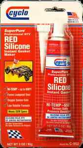 Cyclo C952 Ultraweld Red Silicone 3 3 Oz Tubes