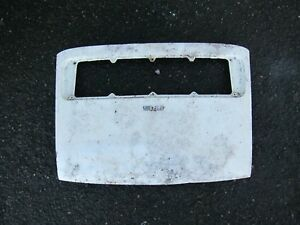 Porsche 911 912 Rear Hood Engine Lid Early Models