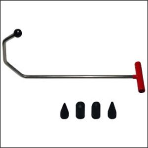 Us Seller Auto Body Dent Repair Rod Changeable Tab With 3 Crimp 27 5