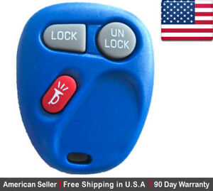 1x New Replacement Keyless Entry Remote Control Key Fob For Chevy Cadillac Gmc