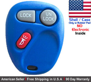 1x New Replacement Keyless Remote Control Key Fob Case For Chevy Gmc Shell