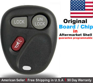 1x Oem Replacement Keyless Remote Control For Chevy Cadillac Gmc Koblear1xt