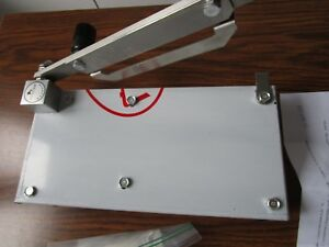 Manual Meat Slicer For Frozen Meat Cutter With Extra Blade And Sharpener