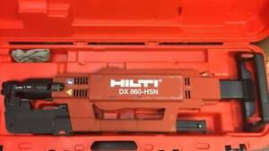 Hilti Dx860 hsn Powder Actuated Ramset Decking Tool Automatic