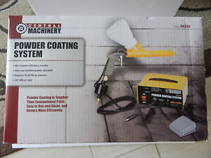 Central Machinery 94244 Powder Coating System New
