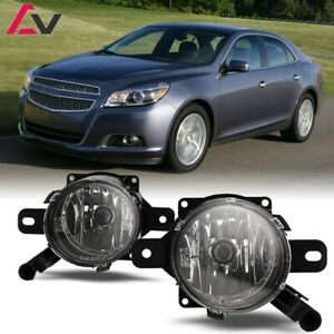 For Chevy Malibu 13 15 Clear Lens Pair Bumper Fog Light Lamp Oe Replacement Dot