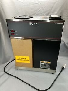 Bunn Vpr Pourover Commercial Coffee Brewer 2 Warmers 120v W decanter