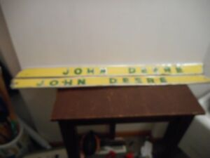 Vintage R l Side Emblems John Deere Imprinted
