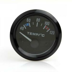 Universal 2 52mm Auto Car Truck Water Temperature Temp Gauge Meter Sensor