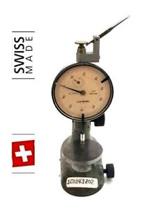 Tesa Compac Pag Grenchen Swiss Gauge Holder Test Indicator Indicator Stand 7
