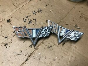 1966 Chevrolet Impala Fender Wings Scrip