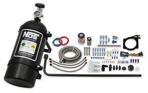 Nos 05163bnos Nos 90mm Gm Ls Wet Nitrous System With 4 bolt Cable Throttle Bo