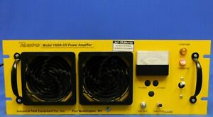 Itec Powertron 1500a cr Low Frequency Rf Power Amplifier