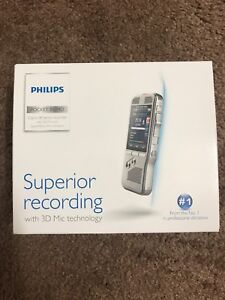 Philips Digital Pocket Memo Voice Recorder Dpm8000 comes With Out Speechexec Pro