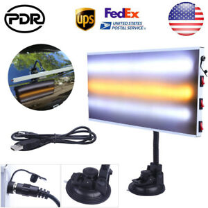 Pdr Tools Paintless Dent Repair 3 Strips Led Lights Lamp Line Board Hail Removal