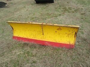 6 Snow Plow Used Sold As Seen As Is Pick Up Only 72 Long