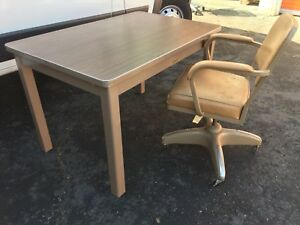 Mcdowell Craig Metal Table Steelcase Tanker Desk