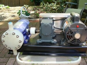 Chem tech Pulsafeeder Metering Pump System Series 300 With Motor