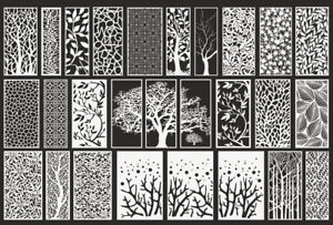 Dxf cdr Of Plasma Laser Router Cut cnc Best 75 Panel Items