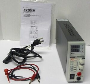 Extech Model 382260 80w 3 in 1 Switching Dc Power Supply