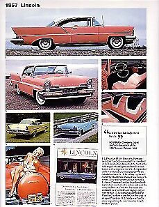 1957 Lincoln Premiere Convertible Article Must See Jayne Mansfield