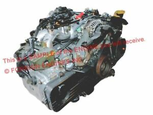 2005 Subaru Forester 2 0l Ej20 Replacement Engine For 2 5l Ej25 Sohc Ej253
