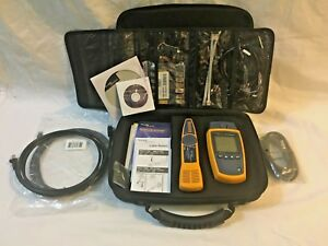 Fluke Networks Ms2 Microscanner2 Professional Kit W Carrying Case