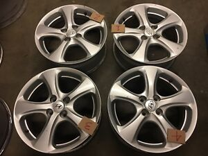 Hyundai Accent 2008 2011 16 Factory Oem Wheels Rims Set With Tpms Slot