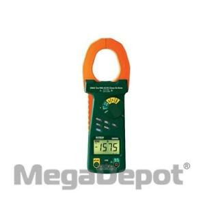 Extech 380926 2000a True Rms Ac dc Clamp Meter