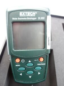 Extech Sl355 Sound Level Meter Digital 60 To 140 Db Range