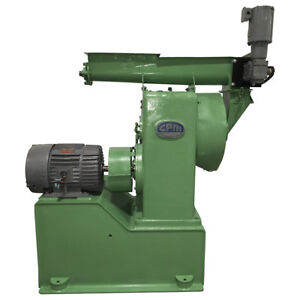 Used Cpm Master Pellet Mill With Feeder And 30 Hp Motor