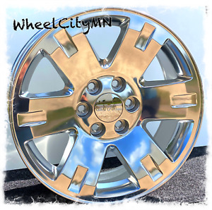 20 Inch 2013 Polished Gmc Sierra Yukon Denali Oe Replica Wheels 6x5 5 31 New