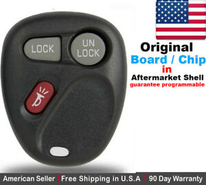 1x Oem Replacement Keyless Remote Key Fob For Oldsmobile Gmc Chevy Kobut1bt
