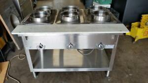 Duke E303 Duke Aerohot 3 Well Electric Steam Table 120v W 6 Pans