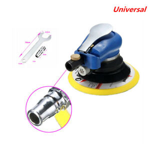 New 6 Air Random Orbital Pneumatic Sander Car Body Orbit Da Low Vibration Tools