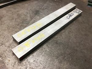 lot Of 10 1 2 0 5 X 1 X 5 Long 304 Stainless Steel Plate Flat Bar Stock