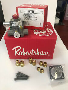 Robertshaw 1720 801 Commercial Cooking Electromagnetic Safety Gas Valve