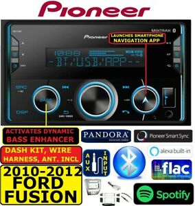 2010 12 Ford Fusion Pioneer Am Fm Bluetooth Usb Aux Eq Car Radio Stereo Pkg