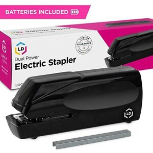 Dual Power Electric Stapler 25 Sheet Capacity Jam Free Cordless new