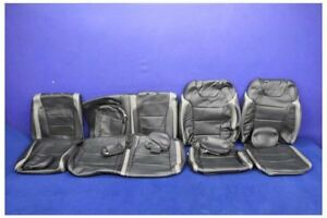Nto 2017 2018 Ford F150 Raptor Leather Crew Cab Oem Leather Seat Covers Oem