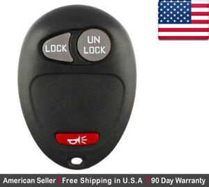 1x New Replacement Keyless Entry Remote Key Fob For Gmc Pontiac Chevy Hummer
